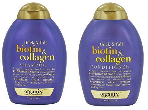 Organix Biotin Collagen Shampoo Conditioner product image