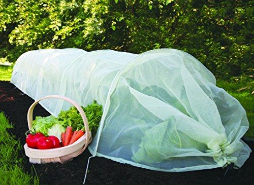 Tierra Garden 50-5030 Haxnicks Easy Micromesh Tunnel Garden Cloche, Giant by Tierra Garden (Image #1)