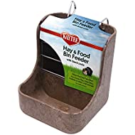Kaytee Hay n Food Bin Feeder with Quick Locks