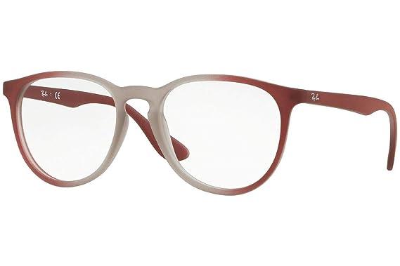 a60cfc4041 Ray-Ban Women s RX7046 Eyeglasses Light Brown On Brordeaux Gradi 51mm