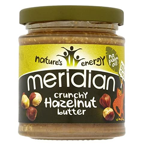 Meridian - Natural Hazelnut Butter Crunchy - 170g - Gm Corpo