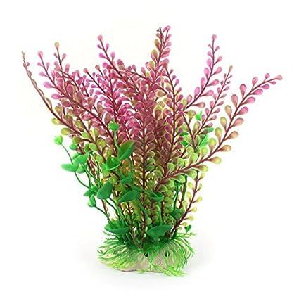 eDealMax Planta de agua peces de acuario tanque de hierba Artificial de la decoración del ornamento