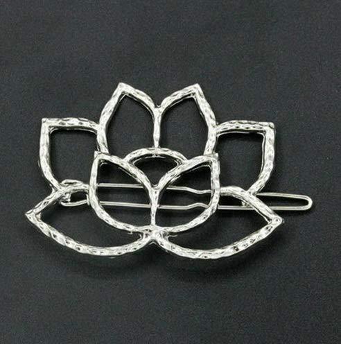 Werrox Womens Girls Korean Style Star Hair Clip Snap Barrette Comb Claw Clamp Hair pin | Model HRBRSH - 1005 |