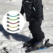 Ski Connector, 2 PCS/ 4 PCS Ski Training Aid Easy Wedge Snowboard Head Connector Beginner's Ski Assistive