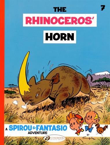 Africa Rhinoceros Horn - The Rhinoceros' Horn (Spirou & Fantasio)