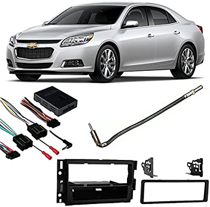 Fleet Only Chevy Impala Limited 14-16 DDIN Stereo Harness Radio Dash Kit