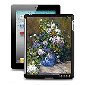 Black Fashion 3D Effect Case Back Cover for iPad 2/3/4