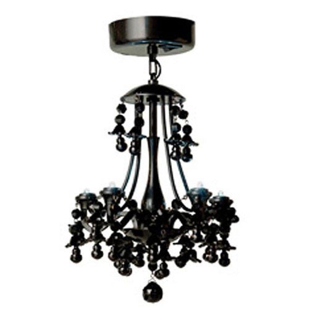 Locker lookz black motion sensor led chandelier amazon arubaitofo Image collections
