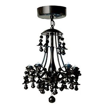 Locker lookz black motion sensor led chandelier amazon aloadofball Image collections