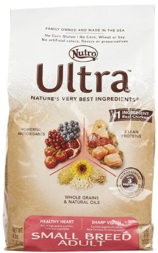 Nutro Ultra Small Breed Adult Dry Dog Food, 4 lbs.