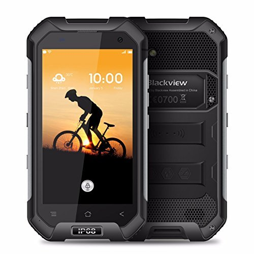Blackview BV6000S 4G IP68 Waterproof Smartphone - Android 6.0 4.7 inch Corning Gorilla Glass 3 Shockproof Dustproof 2GB RAM 16GB NFC GPS OTG