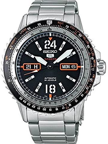 SEIKO 5 Sports Automatic watch SRP347J1 Men's (Digital Watch Men Seiko)