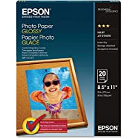 PHOTO PAPER, LETTER SIZE, 20 SHEETS
