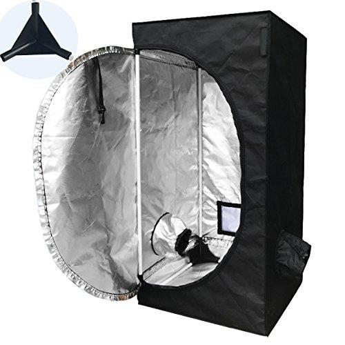 TopoLite 300W/ 600W/ 800W/ 1200W Full Spectrum LED Grow Light + Multiple Size Grow Tent Dark Room Indoor Hydroponic System Kit (LED 300W, 24''x24''x48'' D-Door) by TopoLite (Image #2)
