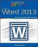 Word 2013, Elaine Marmel, 1118517695