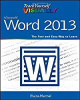 Teach Yourself VISUALLY Word 2013 Front Cover