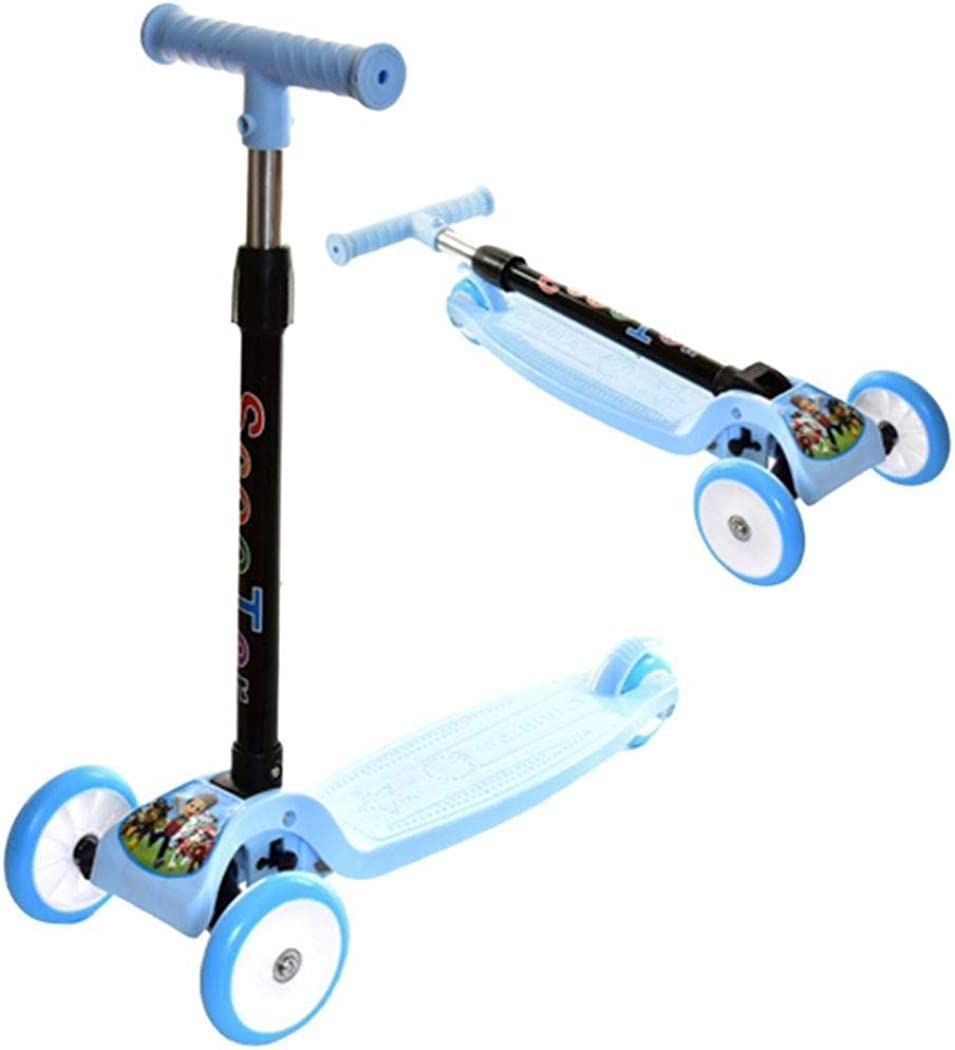 scooters KOUYE- Kids Scooters,scooters adjustable kickboards foldable,for boys and girls kick scooters LED wheels