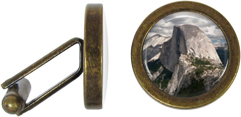 Yosemite Half Dome Cufflinks Yosemite Cuff Links Angled Edition