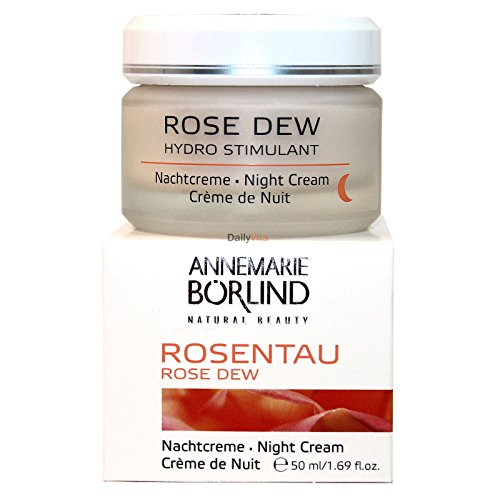 Rose Dew Night Cream 1.69 - Day Care Skin Cream Rose