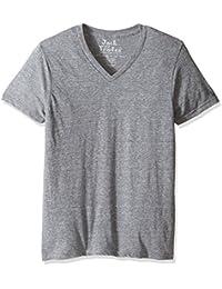 Men's Triblend Classic Fit V-Neck T-Shirt