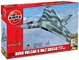 Airfix A50097 Avro Vulcan XH558 Vulcan to The Sky 1:72 Scale Military Aircraft Gift Set (Including Paint Glue And Brushes)