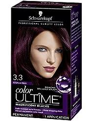 Schwarzkopf Color Ultime Hair Color Cream, 3.3 Amethyst...