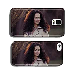 Spring lakeside walk cell phone cover case Samsung S5
