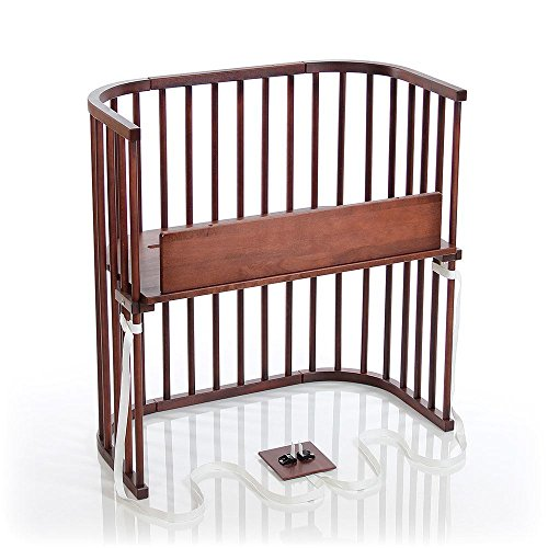 babybay Bedside Sleeper (Deep Walnut Stained Finish)