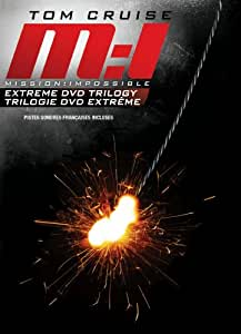 Mission: Impossible Extreme Trilogy Box Set (Mission: Impossible / Mission: Impossible 2 / Mission: Impossible 3) (Sous-titres français)