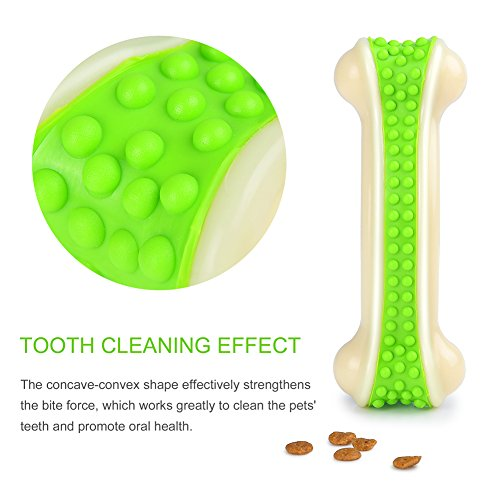 delicate Petacc Dog Chew Bone Bite Resistant Toy Chew Toy Tooth Cleaning Toy Tooth Grinding Toy