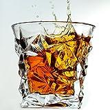 Luxury Crystal Whiskey Glass on the Rocks & Scotch Glass By Magic Glass & Ice