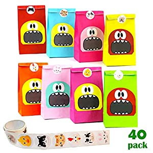 NIMU Party Bags Monster 40 Pac...