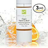 Cheap Vitamin C Serum for Face | Visibly Younger & Healthier Skin – 3-PACK – 20% + Hyaluronic Acid, Vitamin E & Ferulic Acid | Anti-Aging, Anti-Wrinkle Spa Formula Helps Repair Sun Damage, Reduce Dark Spots