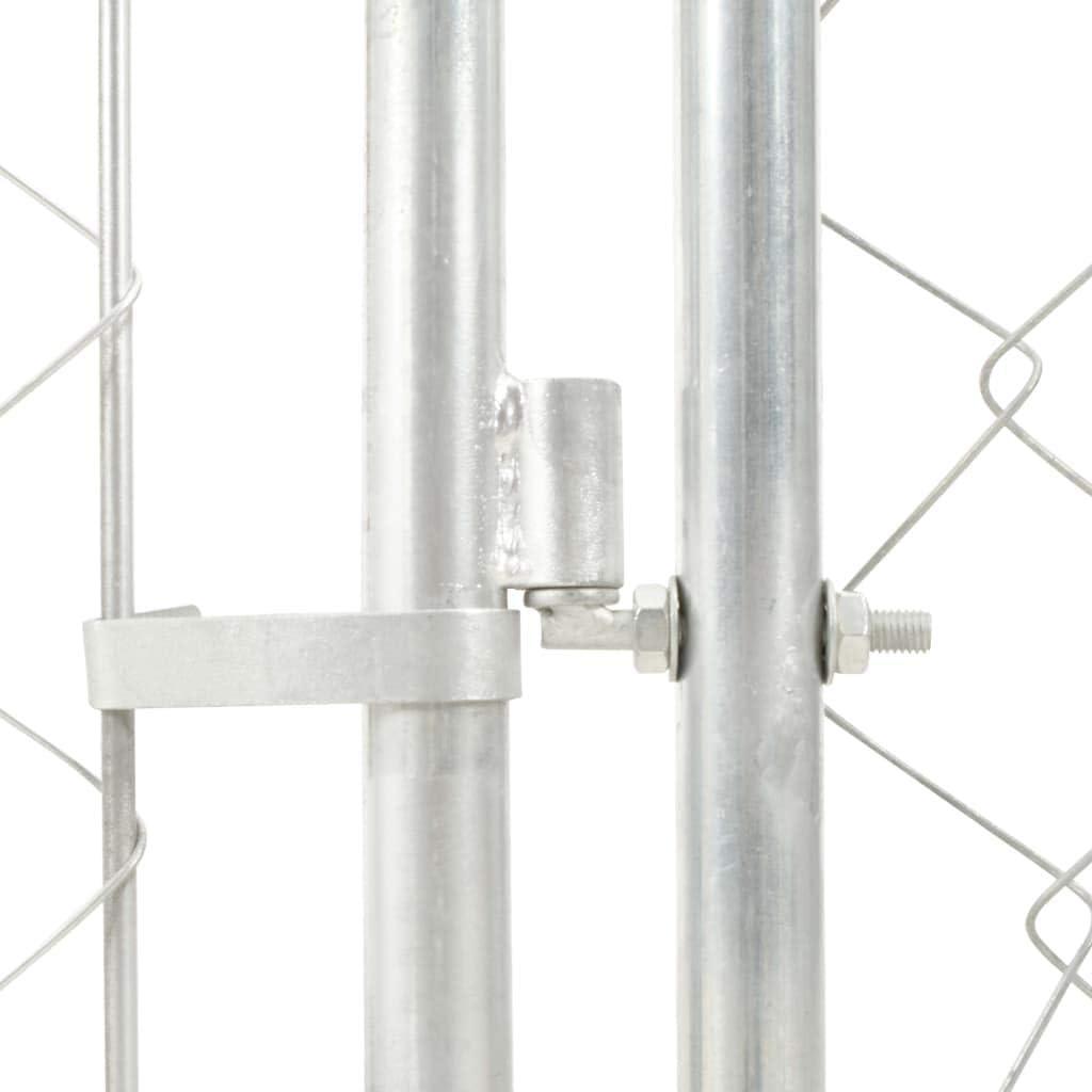 Tidyard Perrera de Exterior 100/% Polietileno con Techo 100x100x125 cm
