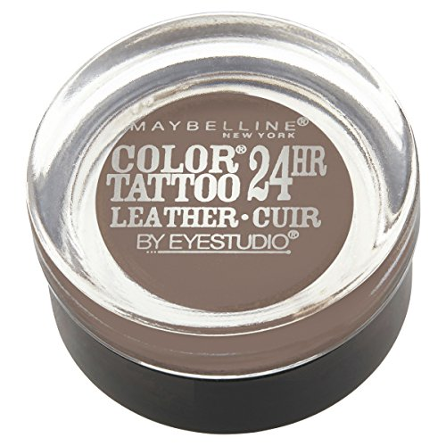 Maybelline New York Eyestudio ColorTattoo Metal 24HR Cream Gel Eyeshadow, Creamy Beige, 0.14 oz.