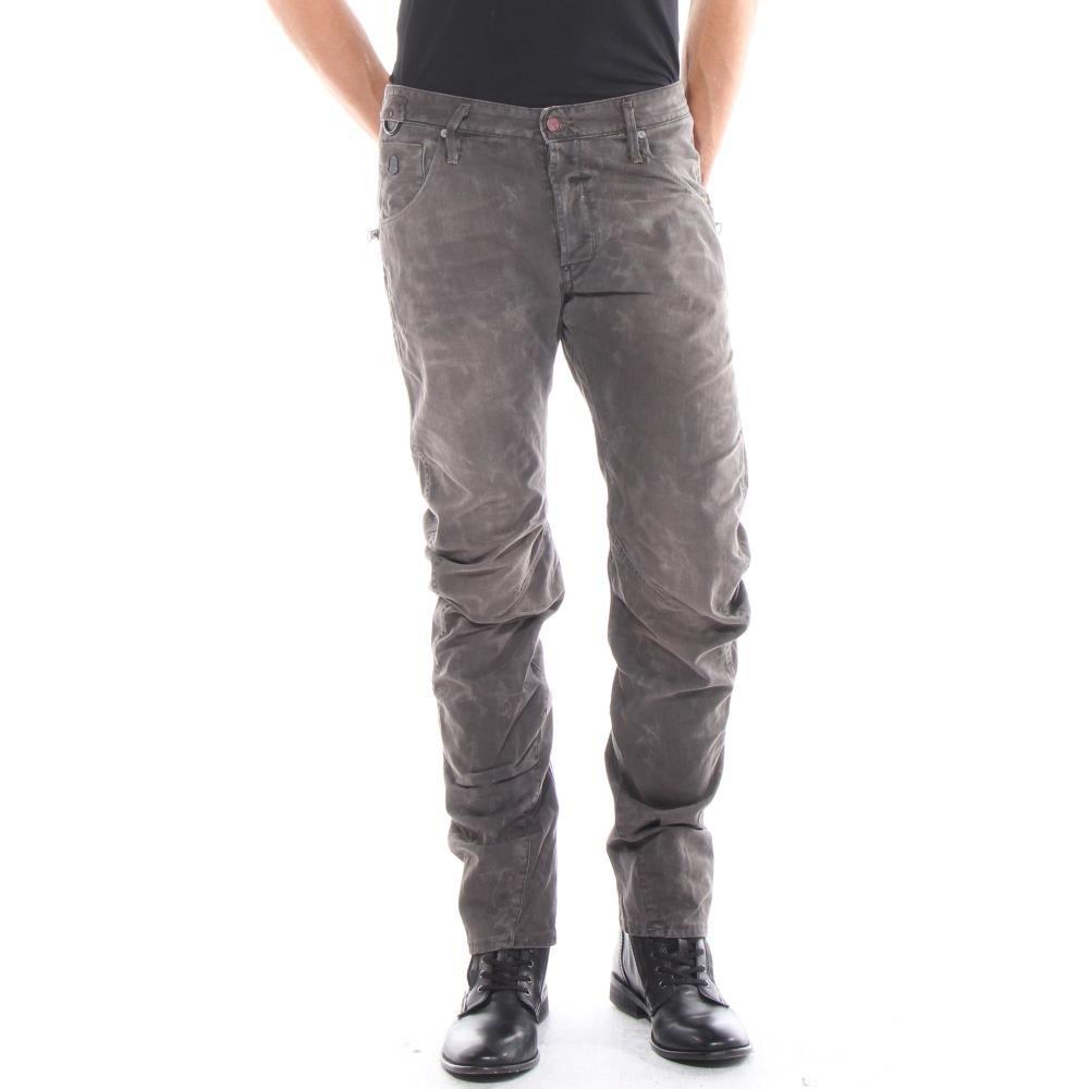 G-Star RAW mens new 1108 3D loose tapered mens jeans 50746 pants (waist 32 leg 30, chase black denim medium aged 4390.071)