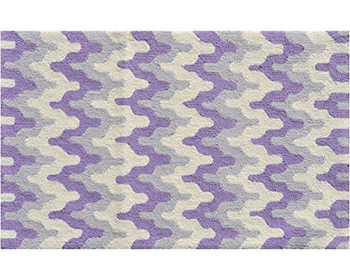 Multicolor Surge Purple The Rug Market 71161B Handmade Rugs
