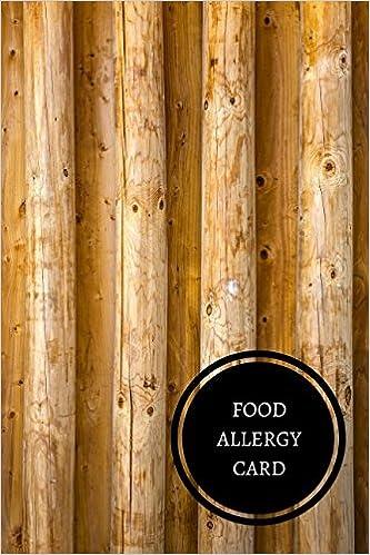 Food Allergy Card