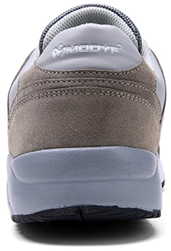 Gray Men's Safety Steel Footwear Work Shoes Toe Construction MODYF Outdoor qzfBw4InB