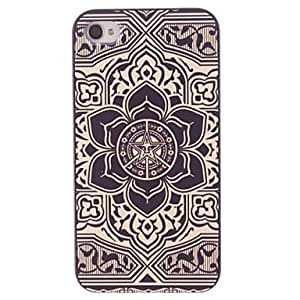 ZCL Big Flower Design PC Hard Case for iPhone 4/4S