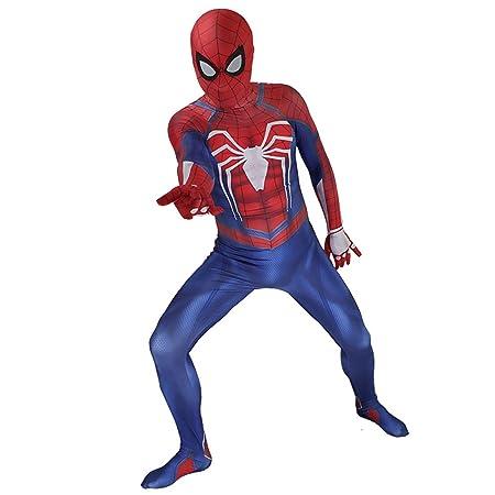 XINFUKL Juego Ps4 Spider Man Medias Traje Anime Adulto ...