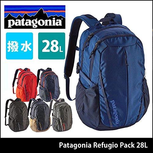 c862ed2d73 Patagonia m  S Refugio Pack 28L Smolder blu Mojave Khaki taglia unica   Amazon.it  Abbigliamento
