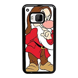 HTC One M9 Cell Phone Case Black Disney Snow White and the Seven Dwarfs Character Grumpy YT3RN2516832