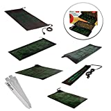 "HYDROPONIC SEEDLING HEAT MAT CLONE PROPAGATION GERMINATION PAD VARIOUS SIZES + THCiTY PLANT STAKES - 60"" X 21"" 140 Watt"