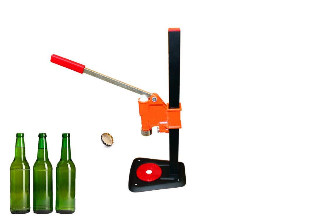 KUNHEWUHUA Manual Beer Bottle Capping Machine Bottled Cola Manual Capper Soda Glass Capping Machine YG-40