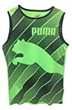 PUMA Boy's Performance Active Basketball Shooter Tank Top Tee Shirt Green Gecko (7)