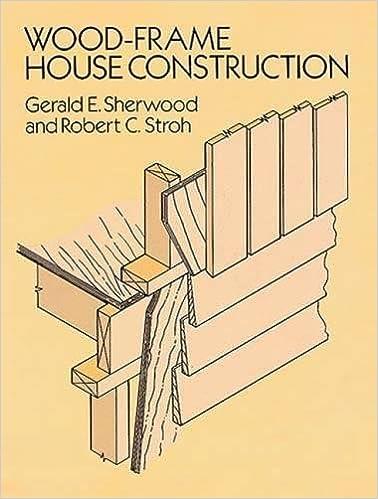 Wood-Frame House Construction: Gerald E. Sherwood, Robert C. Stroh ...