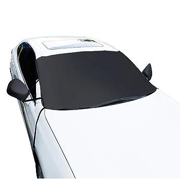 Bloomma Parabrisas Cubierta de Nieve Retiro del Hielo Limpiaparabrisas Protector Protector Todo Clima Invierno Verano Auto Parasol para automóviles Camiones ...