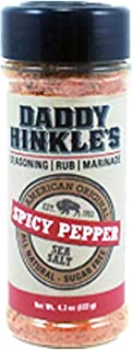product image for Daddy Hinkle's - 4.3 Oz Seasoning Rub Marinade - Spicy Pepper