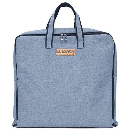 ELESAC Foldable Garment Bag,Clothing Suit Dance w/Pockets,for Business Travel from Elesac